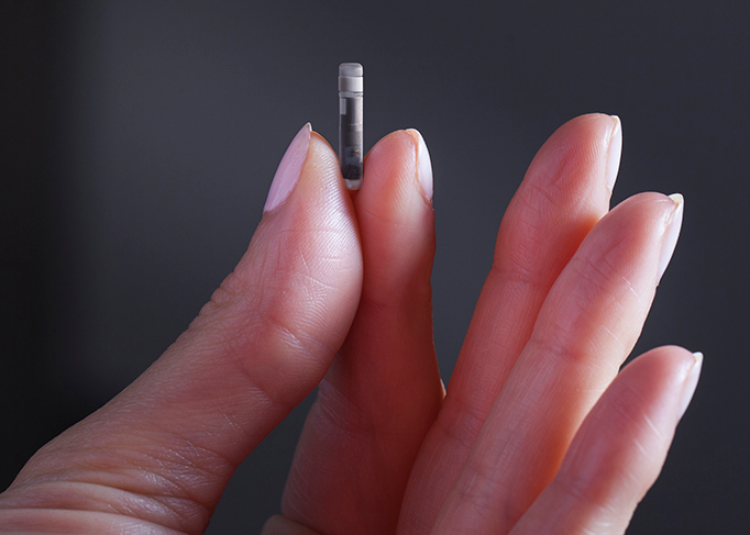 Sensor implantable Eversense XL